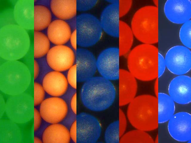 Density Marker Beads for use in Density Gradients